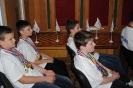 Чествование юных шахматистов
